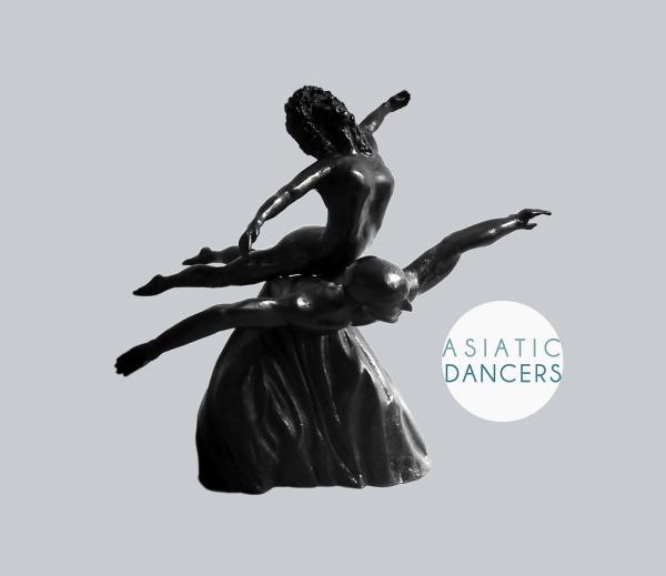 Asiatic dancers didier faure sculpteur plasticien 1