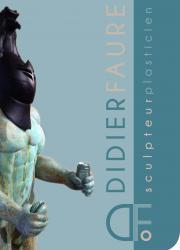 Couverture catalogue didier faure sculpteur plasticien 1