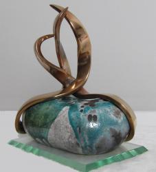 Troika by didier faure sculpteur plasticien